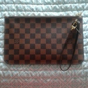 100% Authentic Louis Vuitton Wristlet/ Pochette